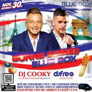 BLUE BOX: Music Maraton! Nash, Steve Judge +6 DJ! | 30 Díjtalan! 32446